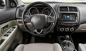 SUV Models at TrueDelta: 2019 Mitsubishi Outlander Sport interior