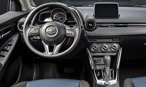 Scion Models at TrueDelta: 2016 Scion iA interior
