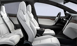 SUV Models at TrueDelta: 2019 Tesla Model X interior