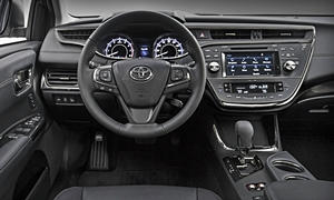 Toyota Models at TrueDelta: 2017 Toyota Avalon interior