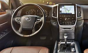 Toyota Models at TrueDelta: 2017 Toyota Land Cruiser V8 interior