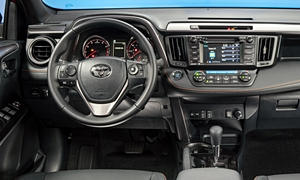Toyota Models at TrueDelta: 2017 Toyota RAV4 interior