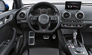Convertible Models at TrueDelta: 2017 Audi A3 / S3 interior