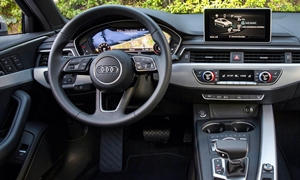 Wagon Models at TrueDelta: 2018 Audi A4 allroad interior