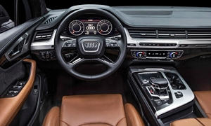 SUV Models at TrueDelta: 2019 Audi Q7 interior