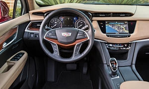 SUV Models at TrueDelta: 2019 Cadillac XT5 interior