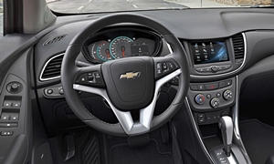 SUV Models at TrueDelta: 2020 Chevrolet Trax interior