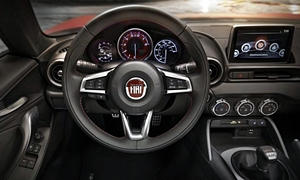Convertible Models at TrueDelta: 2017 Fiat 124 Spider interior
