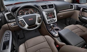 GMC Models at TrueDelta: 2017 GMC Acadia Limited interior