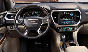 GMC Models at TrueDelta: 2017 GMC Acadia interior