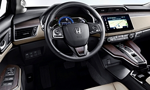 Honda Models at TrueDelta: 2019 Honda Clarity interior