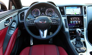 Coupe Models at TrueDelta: 2019 Infiniti Q60 interior
