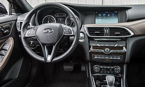 SUV Models at TrueDelta: 2019 Infiniti QX30 interior