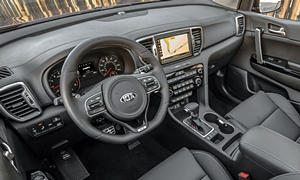 SUV Models at TrueDelta: 2019 Kia Sportage interior