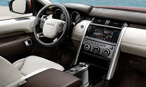 Land Rover Models at TrueDelta: 2019 Land Rover Discovery interior
