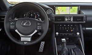 Lexus Models at TrueDelta: 2020 Lexus IS interior