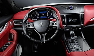 SUV Models at TrueDelta: 2019 Maserati Levante interior