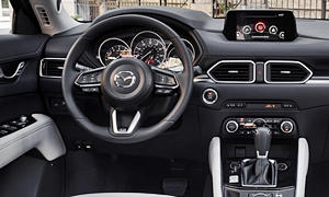 Mazda Models at TrueDelta: 2018 Mazda CX-5 interior