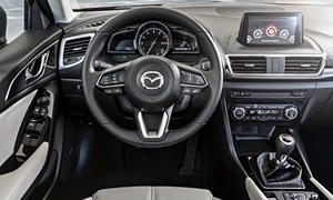 Mazda Models at TrueDelta: 2018 Mazda Mazda3 interior