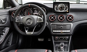 Mercedes-Benz Models at TrueDelta: 2019 Mercedes-Benz CLA interior