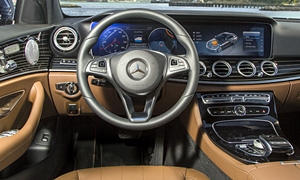Coupe Models at TrueDelta: 2020 Mercedes-Benz E-Class interior