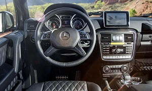 Mercedes-Benz Models at TrueDelta: 2018 Mercedes-Benz G-Class interior