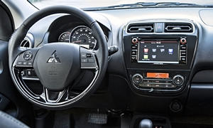 Hatch Models at TrueDelta: 2018 Mitsubishi Mirage interior