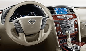 SUV Models at TrueDelta: 2020 Nissan Armada interior