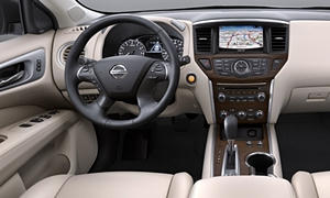 SUV Models at TrueDelta: 2020 Nissan Pathfinder interior