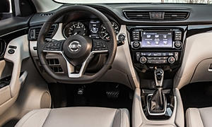 SUV Models at TrueDelta: 2019 Nissan Rogue Sport interior