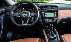 SUV Models at TrueDelta: 2020 Nissan Rogue interior