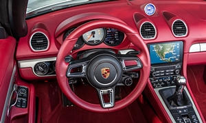 Convertible Models at TrueDelta: 2019 Porsche 718 Boxster interior