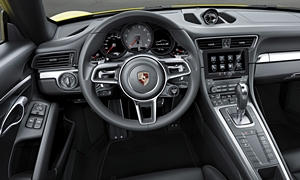 Porsche Models at TrueDelta: 2019 Porsche 911 interior