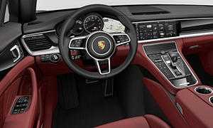 Hatch Models at TrueDelta: 2018 Porsche Panamera interior