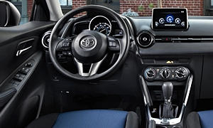 Toyota Models at TrueDelta: 2018 Toyota Yaris iA interior