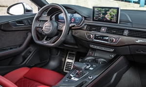 Coupe Models at TrueDelta: 2019 Audi A5 / S5 / RS5 interior
