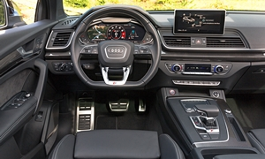 SUV Models at TrueDelta: 2020 Audi SQ5 interior