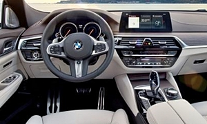 Hatch Models at TrueDelta: 2018 BMW 6-Series Gran Turismo interior
