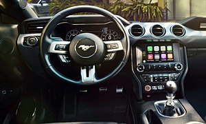 Coupe Models at TrueDelta: 2020 Ford Mustang interior