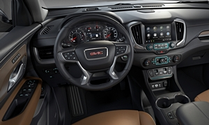 SUV Models at TrueDelta: 2020 GMC Terrain interior