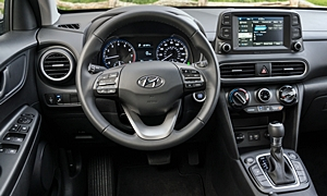 SUV Models at TrueDelta: 2020 Hyundai Kona interior