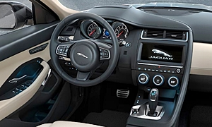 SUV Models at TrueDelta: 2020 Jaguar E-Pace interior
