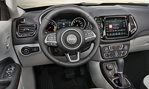 Jeep Models at TrueDelta: 2018 Jeep Compass interior
