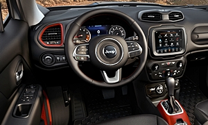 Jeep Models at TrueDelta: 2018 Jeep Renegade interior