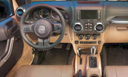 Jeep Models at TrueDelta: 2018 Jeep Wrangler JK interior