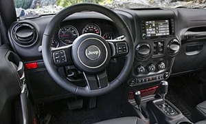 Jeep Models at TrueDelta: 2018 Jeep Wrangler interior