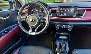 Hatch Models at TrueDelta: 2018 Kia Rio interior