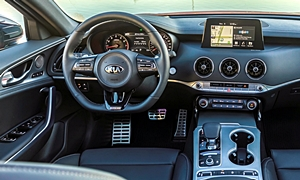 Hatch Models at TrueDelta: 2018 Kia Stinger interior
