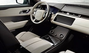 SUV Models at TrueDelta: 2020 Land Rover Range Rover Velar interior