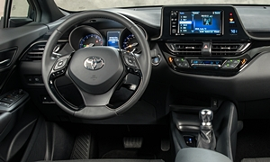 SUV Models at TrueDelta: 2020 Toyota C-HR interior